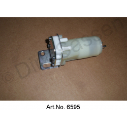 Pump for windscreen washer fluid, VDO, from 1965, white, with round plugs