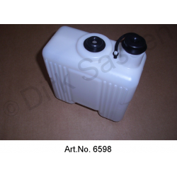 Container for windscreen washer, from 1971, angular edges, newly manufactured, DX564-72C