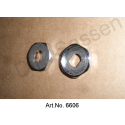 Counter-plate for door handle, inside, chrome-plated, Non Pallas