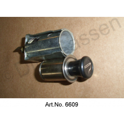 Cigarette lighter, from 10/1970, as new, without lighting