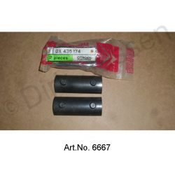 Bearings for anti-roll bar, centered, original spare part, 2-piece, DX435174
