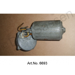 Windscreen wiper motor, 12V, as new, from 1962 to 1965, 1 cable connection, with limit switch