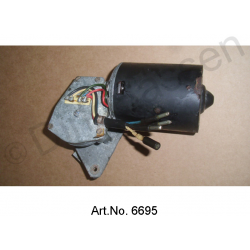 Windscreen wiper motor, 12V, as new, from 1969, 4 cable connections, 2-stage
