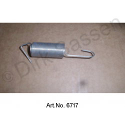 Return spring, carburetor linkage