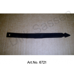 Binder for return hose, 160 mm, narrow