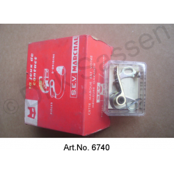 Distributor contact, SEV, sickle-shaped, original spare part