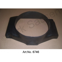 Frame for radiator, new, DX 242 201A, from 1965, plastic for radiator with filler neck, original spare part