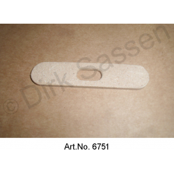 Spacer for access panel, for front, left or right