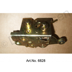 Locking mechanism, chrome-plated, front, right, as new, from 1971