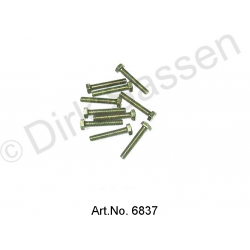Screw, M7 x 25 (10 pieces)