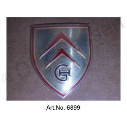 Emblem for bonnet grip