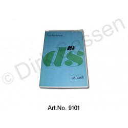 Operating Instructions, DS 19, 09/1966 to 07/1967, Trolley, turquoise cover