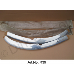 Bumper leaves, left and right, front, ID, until 1962, aluminum, pair