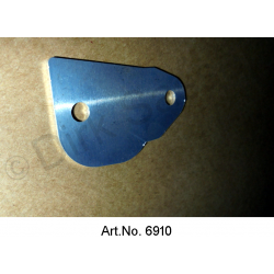 Distance plate for lock latch, 1 mm, until 1971