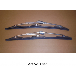 Set of wiper blades, metal, 3 joints