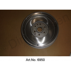 Flywheel, planned, replacement part, 1965 to 1969, for starter with 10 teeth