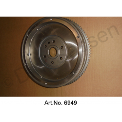 Flywheel, planned, replacement part, 1969 to 1971, for starter with 9 teeth