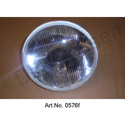 Headlight, H4, new mirrored, from 1967, exchange part