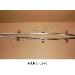 Roof frame set, inside, left and right, Pallas, used in good condition, with 3 fixings