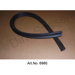 Gasket for ventilation ducts in the dashboard, from 1960, engine compartment side