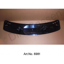 Trough for spare wheel, until 1962, sand blasted and powder coated
