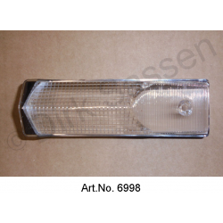 Cap for interior lighting, ID, on the B-pillar, 1968 to 1972, square version