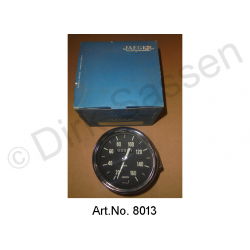 Dashboard insert, Jaeger, speedometer, new, original spare part, up to 160 km/h