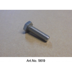 Screw, M7, 25 mm, stainless steel, unit price