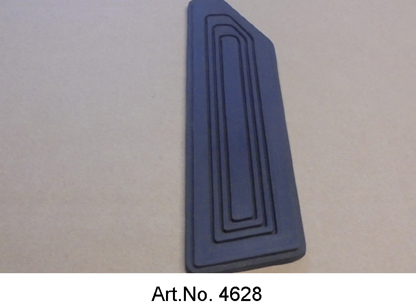 Pedal rubber pad, SM