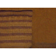 Velor, pallas, striped, ocher, until 09/1973, 1.4 meters wide, per meter