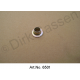 Attachment eyelet for rubber attachment