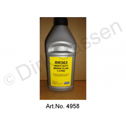 Liquid RR 363, hydraulic fluid, 1 liter, for Rolls Royce models, with synthetic hydraulic system