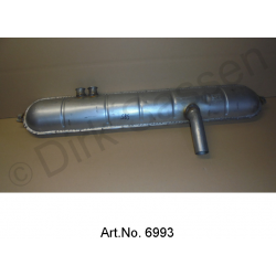Main silencer, 2nd quality, from Walker