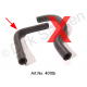 Crankcase breather hose, top, IE
