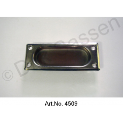 Handle shell for convertible top, front