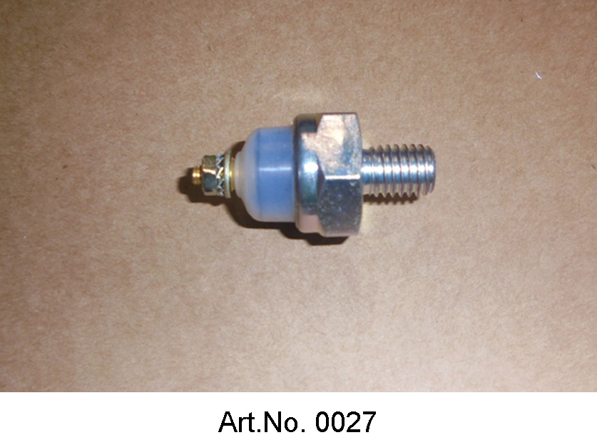 Oil pressure switch, with light housing, similar to the original version
