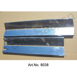 Set for sill paneling, at the entrance, original, used, 4-piece set, side, vertical