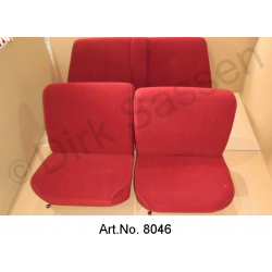Interior, until 1968, Pallas, smooth fabric, Jersey, fully assembled, replacement part