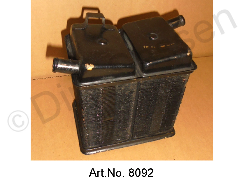 Heating radiator, large, until 1969, used and functional