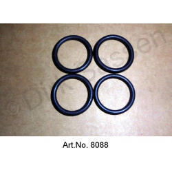 O-ring for oil cooler, set of 4 pieces, for IE