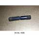 Connector for vibration damper on the headlight, plastic