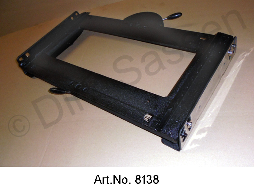 Frame for front seat, with height adjustment, used in good condition, until 09/1968, for seat with lever adjustment