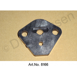 Fuel pump, spacer, 1965 to 1975