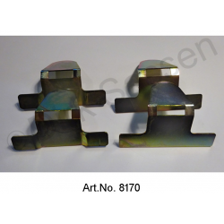 Retaining clips for headlining, set of 4 pieces
