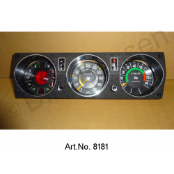 Dashboard, 1969 to 1970, completely refurbished, with water temperature display, speedometer checked and calibrated