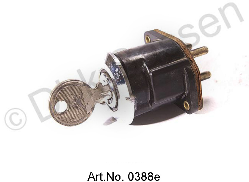 Ignition lock, up to 1968, used, functional, original